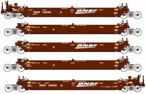 BNSF MAXI-I Container Freight Car
