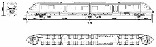 Bombardier Talent NSB Class 93