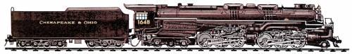 Chessie H-8 Allegheny 2-6-6--6 (1941)