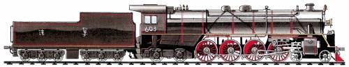 China KF Type 4-8-4 (1935)