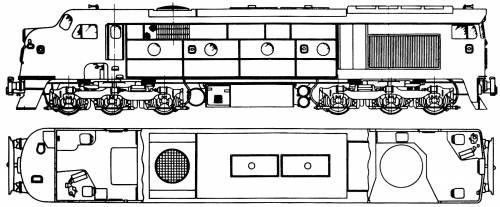 Clyde Engineering 421 Class Diesel - Electric
