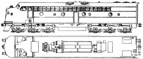 Clyde Engineering 42 Class Diesel - Electric