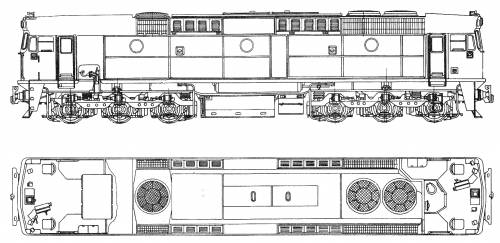 Clyde Engineering 442 Class Diesel - Electric