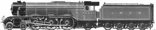 COLOMBO LNER A1 Pacific locomotive