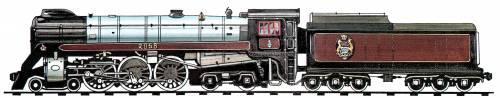 CPR Royal Hudson Class 4-6-4 (1937)