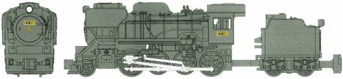 D51-498 Steam Locomotive