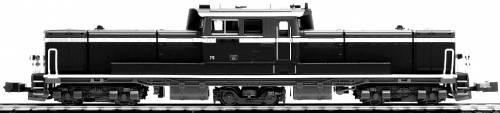 DD51 JR Freight A