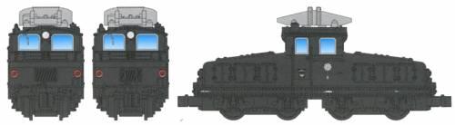 Deki 1 Electric Locomotive