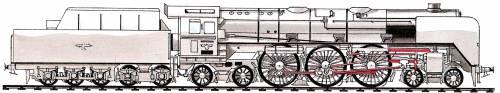 DR 05 4-6-4 (1935)