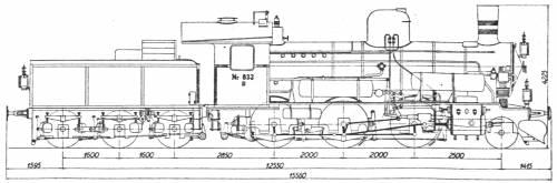 DSB Litra D 833