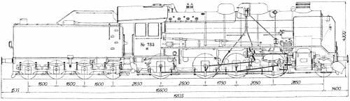 DSB Litra H 783