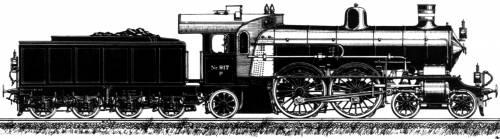 DSB Litra P 917