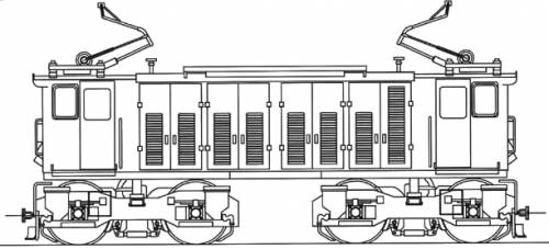 EDR Electric Locomotive
