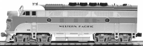 EMD F3A Phase II Western Pacific