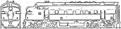 EMD F7 1950