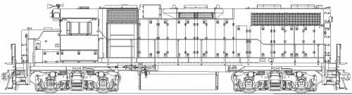EMD GP38AC