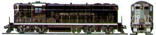 EMD GP7 1951