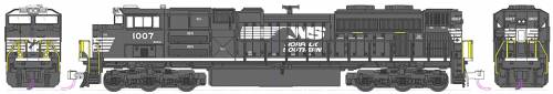 EMD SD70ACe Norfolk Southern no 1007