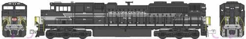 EMD SD70ACe NS Heritage New York Central