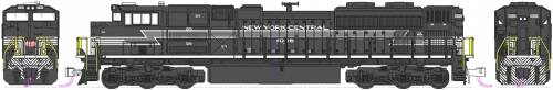 EMD SD70ACe NS Heritage New York Central no 1066