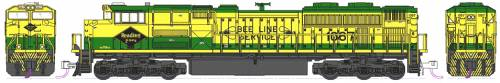 EMD SD70ACe NS Heritage Reading Lines no 1067