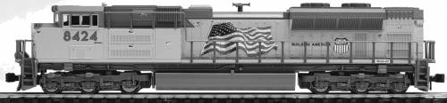 EMD SD70ACe Union Pacific Flag No.8424
