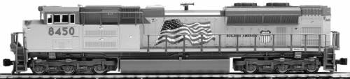 EMD SD70ACe UP `Flag`