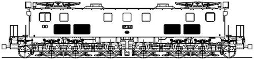 Hitachi JNR EF-13