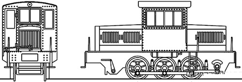 Hokutan Railway Type DC1