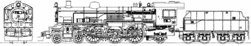 JNR C53 Steam Locomotive