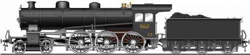 JNR Class 8850