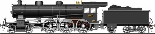 JNR Class 8862