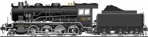 JNR Class 9600 2-8-0 1913
