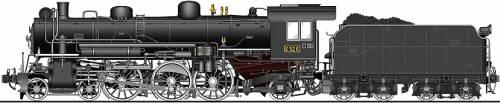 JNR Class C52
