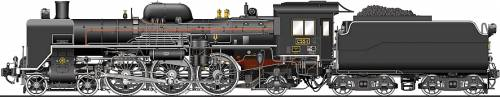 JNR Class C55