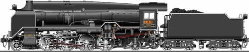 JNR Class D51