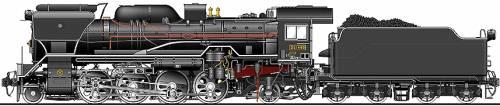 JNR Class D51-499