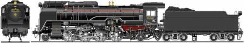 JNR Class D52