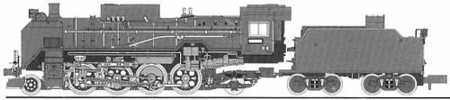 JNR D51-1002 (1941)