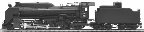 JNR D51 1 Type A