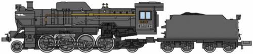 JNR D51-706 Montetsu Deflector