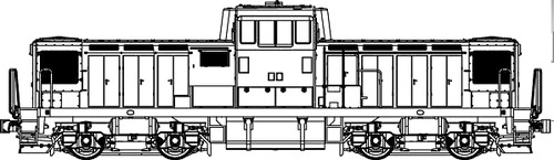 JNR DD13
