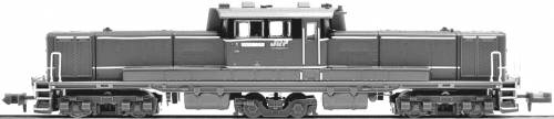JNR DD51-1156 JR Freight