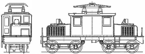 JNR ED22 Electric Locomotive