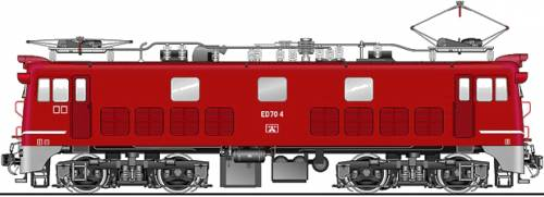 JNR ED70-4