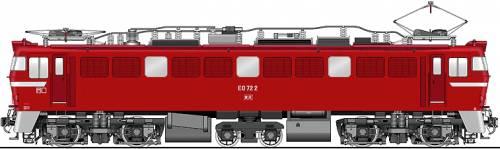 JNR ED72-2