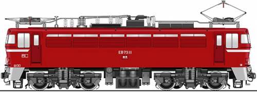 JNR ED73-11
