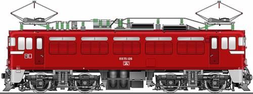 JNR ED75-126