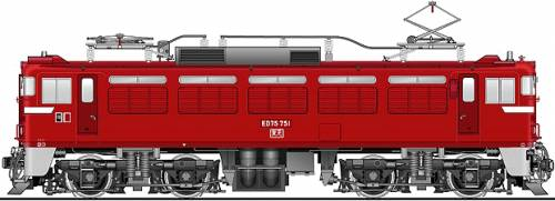 JNR ED75-751