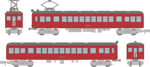 Nagoya Railroad Series 3800 High Cab